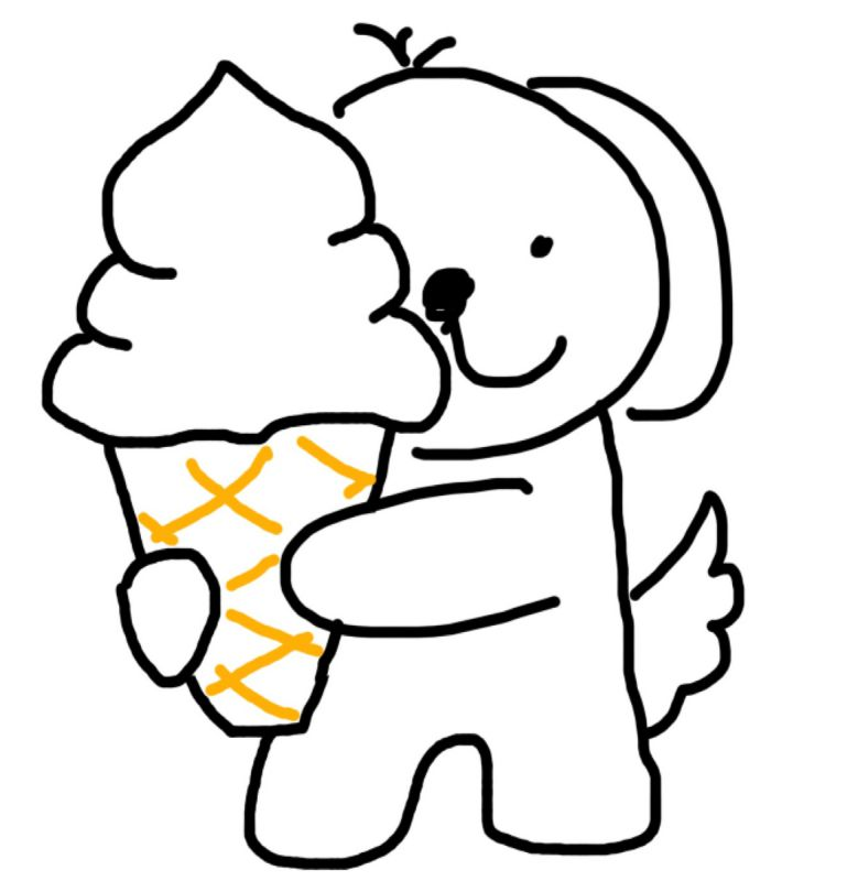 犬にもわかる株主優待 ソフトクリーム