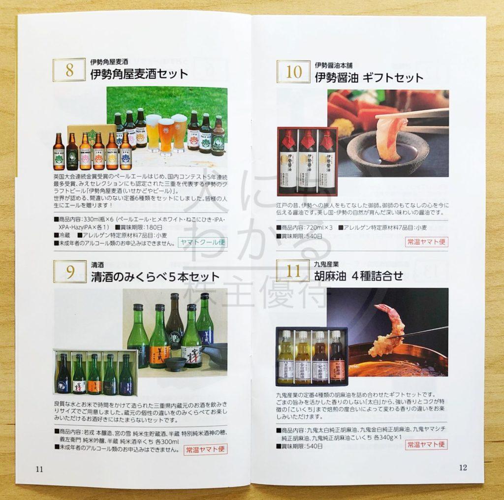 犬にもわかる株主優待 百五銀行 株主優待 カタログ③